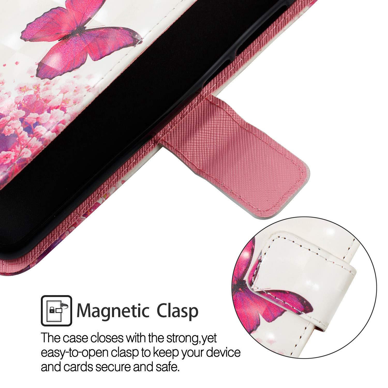 ZCRO Handytasche f/ür Xiaomi Mi Max 3 Schutzh/ülle H/ülle Flip Case 3D Bunt Muster Cover Magnet Leder Tasche Handyh/üllen mit Kartenfach f/ür Xiaomi Mi Max 3