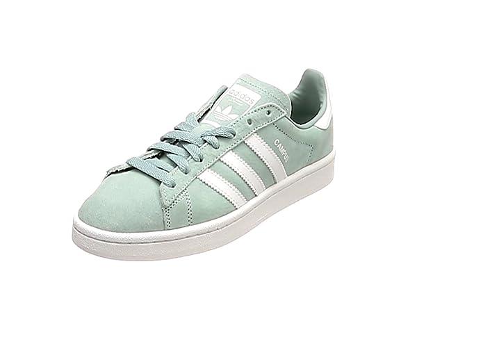 Adidas Campus Schuhe Herren grün (Vertac) mit weißen Streifen