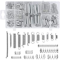 F-MINGNIAN-SPRING 5Pcs Wire Dia 1mm Length 20-60mm Steel Tension Spring With Hooks Outer Dia 8mm Small Extension Spring Size : 1 x 8 x 20mm