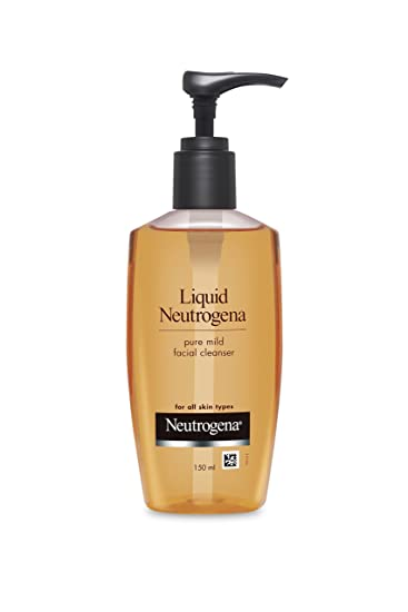 Amazon.com: Liquid Neutrogena Pure Mild Facial Cleanser ...