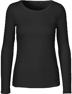 8533c794848e Green Cat Neutral Ladies Long Sleeve T-Shirt, 100% Organic Cotton Fairtrade  Certified