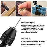 Hobby Drill Bits, Micro Pin Vise Hand Twist Drill
