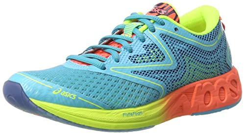Asics Noosa FF, Scarpe Running Donna, Multicolore (Aquarium/Flash  Coral/Safety