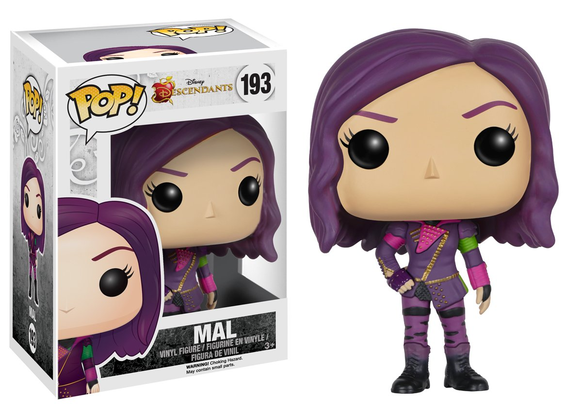 Extrêmement Funko - POP Disney - Descendants - Mal: Funko Pop! Disney:: Amazon  SD47