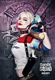 """""""Suicide Squad"""" Movie Poster Harley Quinn (2016, David Ayer, Margot Robbie as Harley Quinn, David Harbour, Jared Leto as Joker, Cara Delevingne, Scott Eastwood, Ben Affleck, Will Smith) [A2 Size 42.0 x 59.4 cm, 16.53 x 23.39 inches]"""