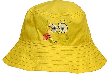... italy midwest glove ss300k spongebob squarepants kids all cotton bucket  hat yellow f8c48 1a8b9 22fedc9afd3f