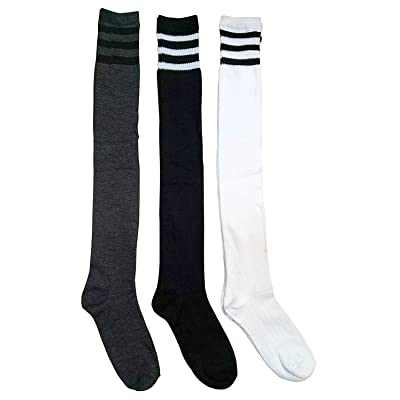 3 Pairs Of excell Womens Knee High Referee Socks #6799-3 (Referee socks size 9-11)