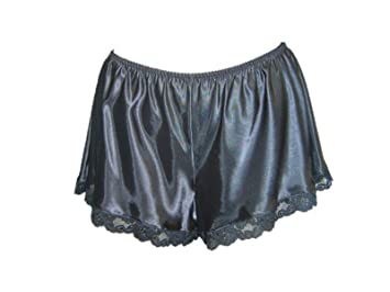 Image Unavailable. Image not available for. Colour  Ladies Womens Lace French  Knickers Silk ... 662c186cb