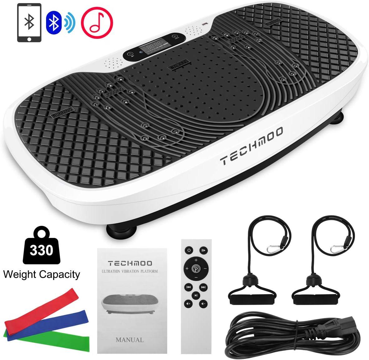 Sports & Fitness Cardio Training TECHMOO 3D Vibration Platform ...