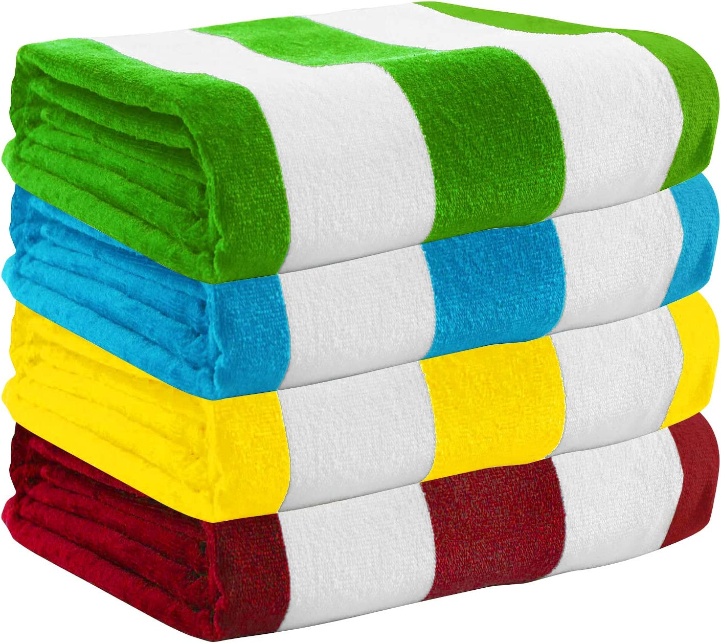 Exclusivo Mezcla 100% Cotton Oversized Large Beach Towel Sets, Pool Towel