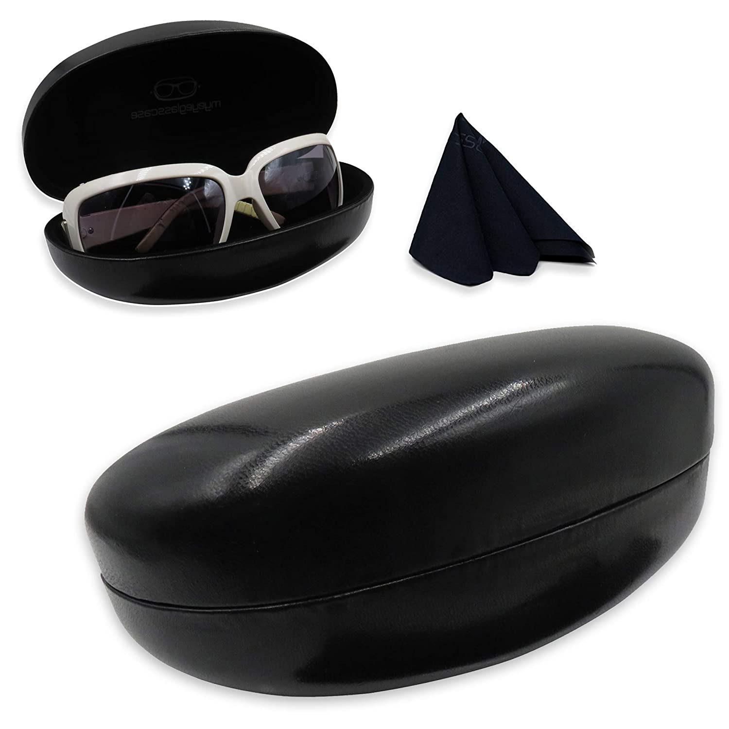 Premium Sunglasses Case Collection | Hard Medium & Large | For Men & Women AS413