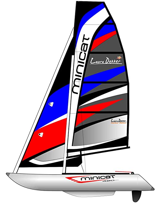 minicatamaran 420 Laura Dekker edición limitada luz peso ...