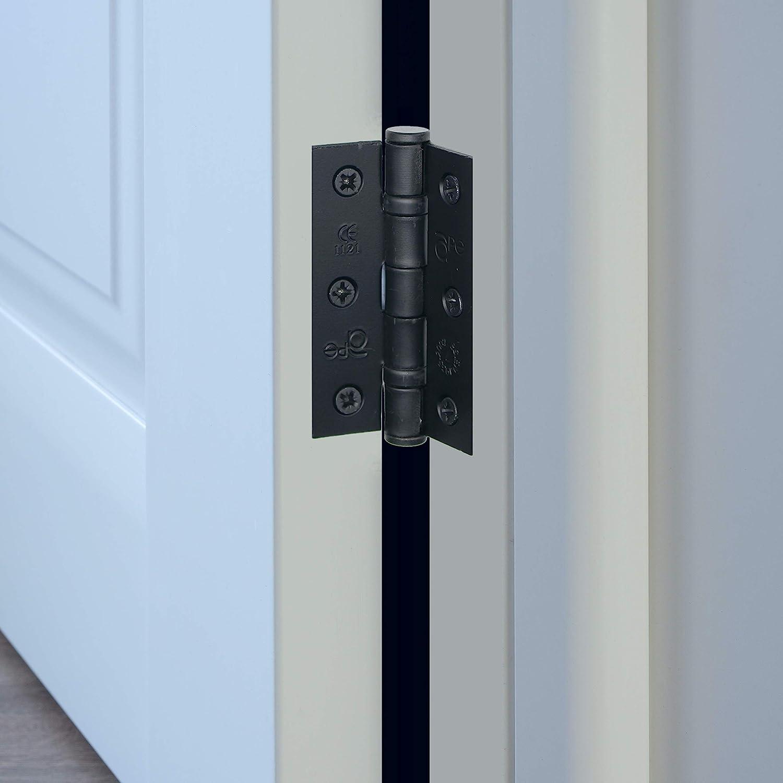 76 mm negro Bisagras para puerta interna rodamientos de bolas