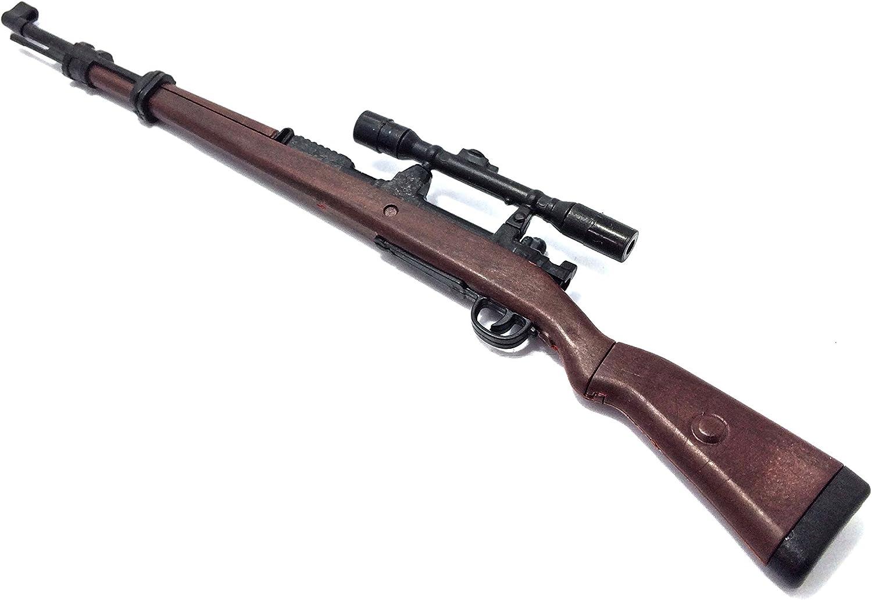 "1//6 Scale KAR 98K Mauser Rifle For 12/"" Action Figure Model Gun Weapon Soldier"