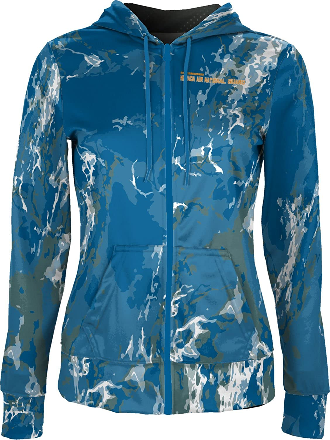 ProSphere Women's Nevada Air National Guard Military Marble Fullzip Hoodie