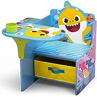 Delta Children Baby Shark Chair Desk with Storage Bin