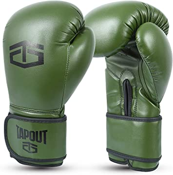Tapout Guantes Boxeo Hombre Dura-Leather PU Training Sparring Classic