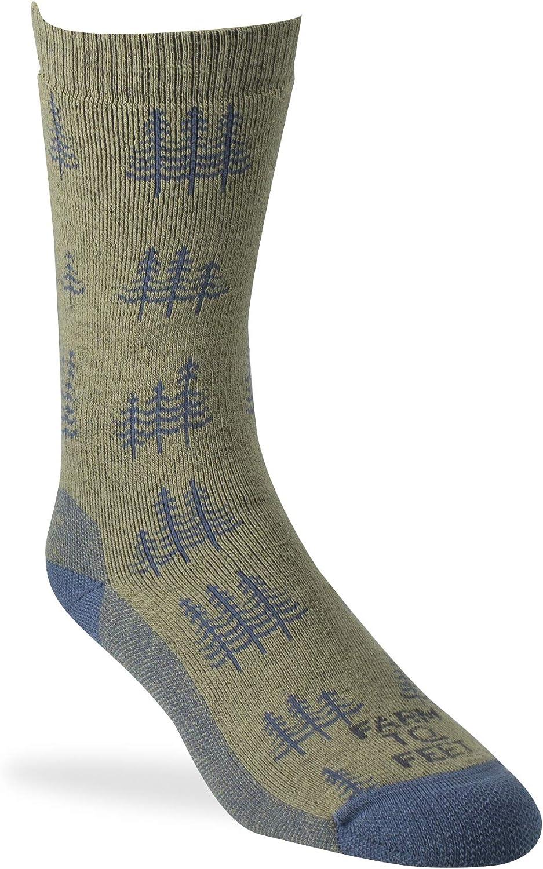 Farm to Feet Cokeville Midweight Merino Wool Socks