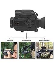 Bestguarder NV-600 Digital Nachtsichtgerät Ultra Klein 1-5x18mm Infrarot Nachticht Mehrzweck Monokulare/Scope Aufzeichnungen Tag und Nacht IR-Bild und Video von 200 m / 650 ft in voller Dunkelheit
