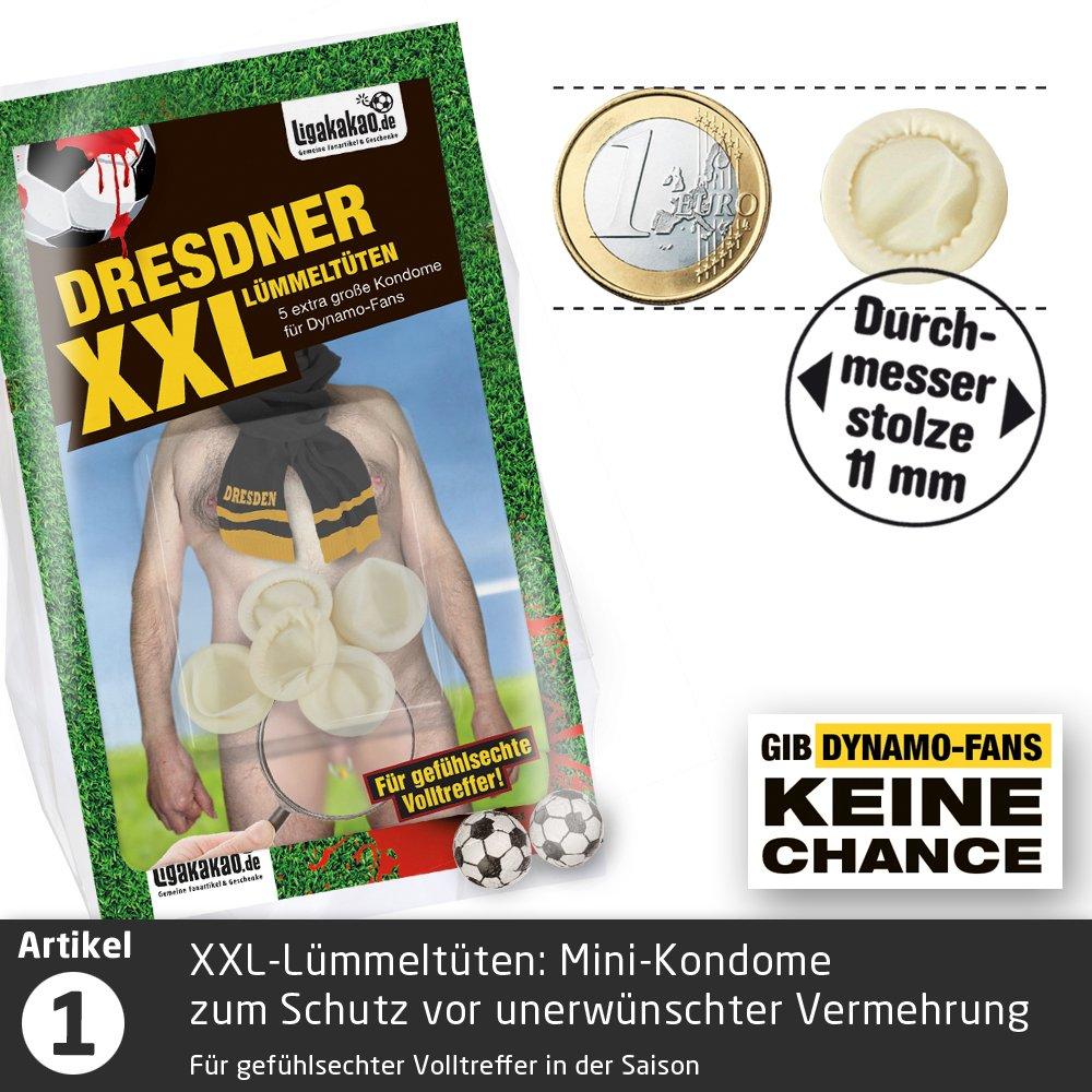 F/ür mehr Spa/ß in der Liga! Dresdner Kleine Pimmel Echt gemein leckere Fruchtgummi f/ür Dynamo Dresden-Fans inklusive Messlatte zum Lachen /& Vergleichen by Ligakakao.de