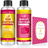 Epoxy Resin - 16 Oz. Art Resin, Crystal Clear Resin Kit, Epoxy Casting and Coating for Art, Jewelry, Tumblers, River Tables,