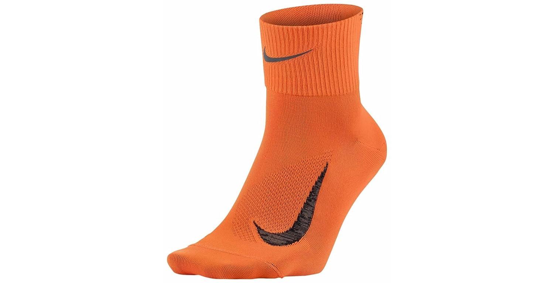 Nike U Nk ELT LTWT Qt Calcetines, Hombre, Naranja (Total Orange ...