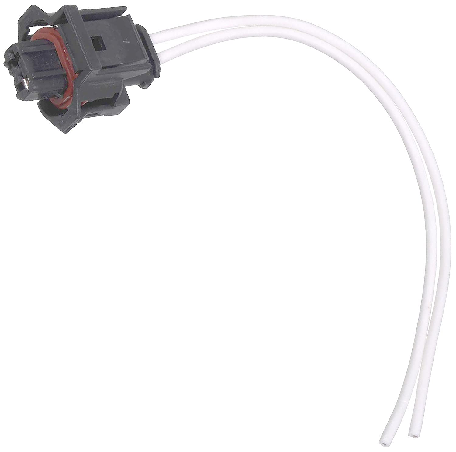 Amazon.com: APDTY 133821 Wiring Harness 2-Wire Pigtail Connector Fits  Select 6.6L Duramax Diesel Fuel Injector Crank Position Coolant Temp Oil  Temp Fuel ...