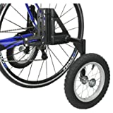 CyclingDeal Adjustable Adult Bicycle Bike Stabilizers Training Wheels Fits 24' to 29' - Heavy Duty