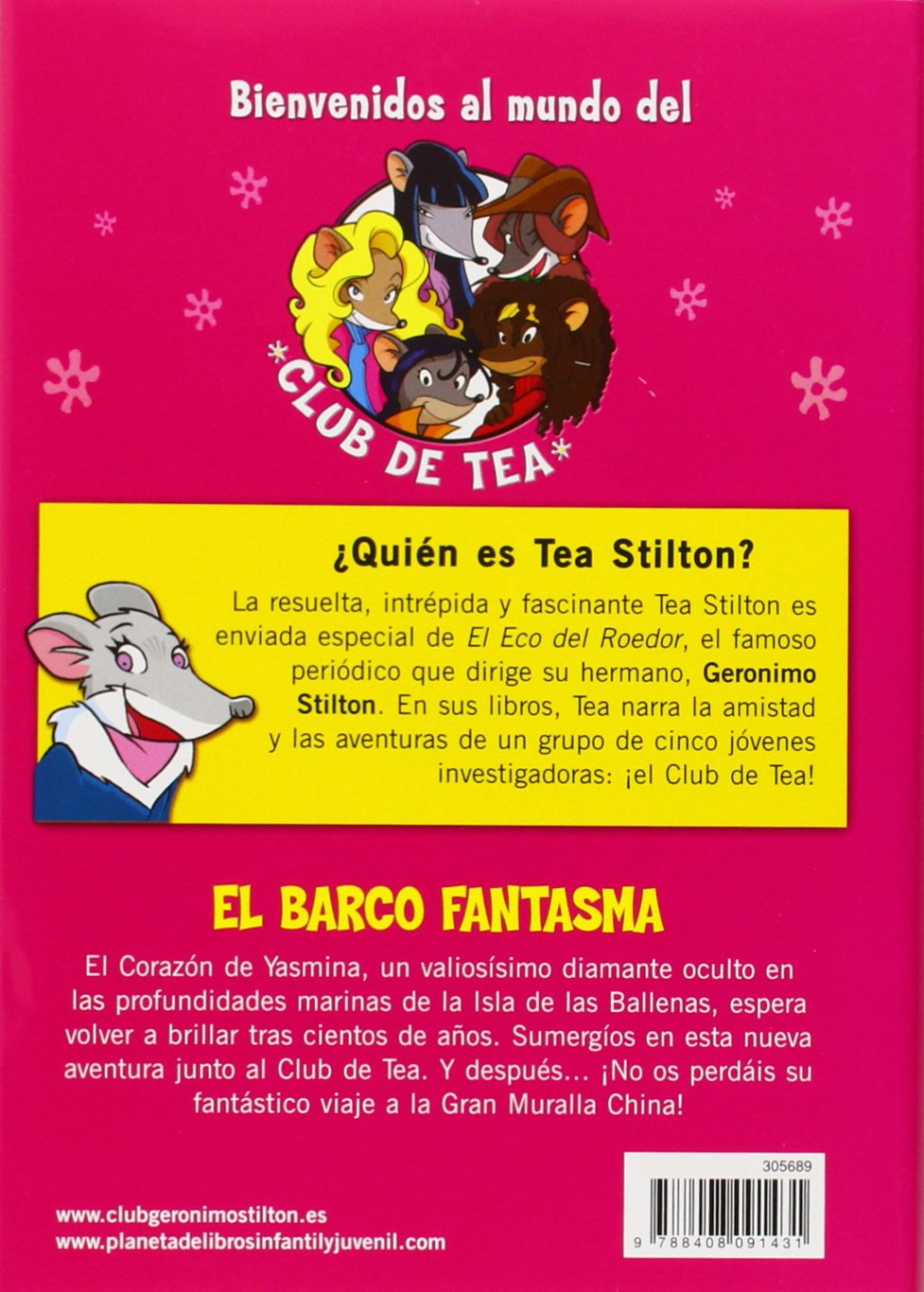 Tea Stilton 5. El barco fantasma: Tea Stilton: 9788408091431: Amazon.com: Books
