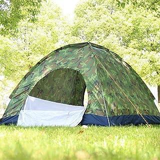KCJMM Tente de Plage, Tente de Camping en Plein air camouflée, Tente Ouverte à Vitesse Automatique, Tente escamotable, propice à la randonnée, à la pêche, à la Plage, dans Un Parc