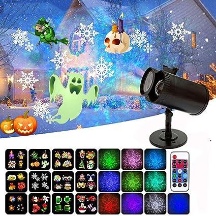 Amazon.com: Proyector de Navidad Luces Doble Cilindro ...