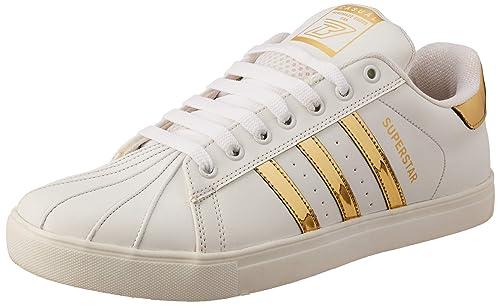 Buy Black Tiger Men's White Sneakers-8