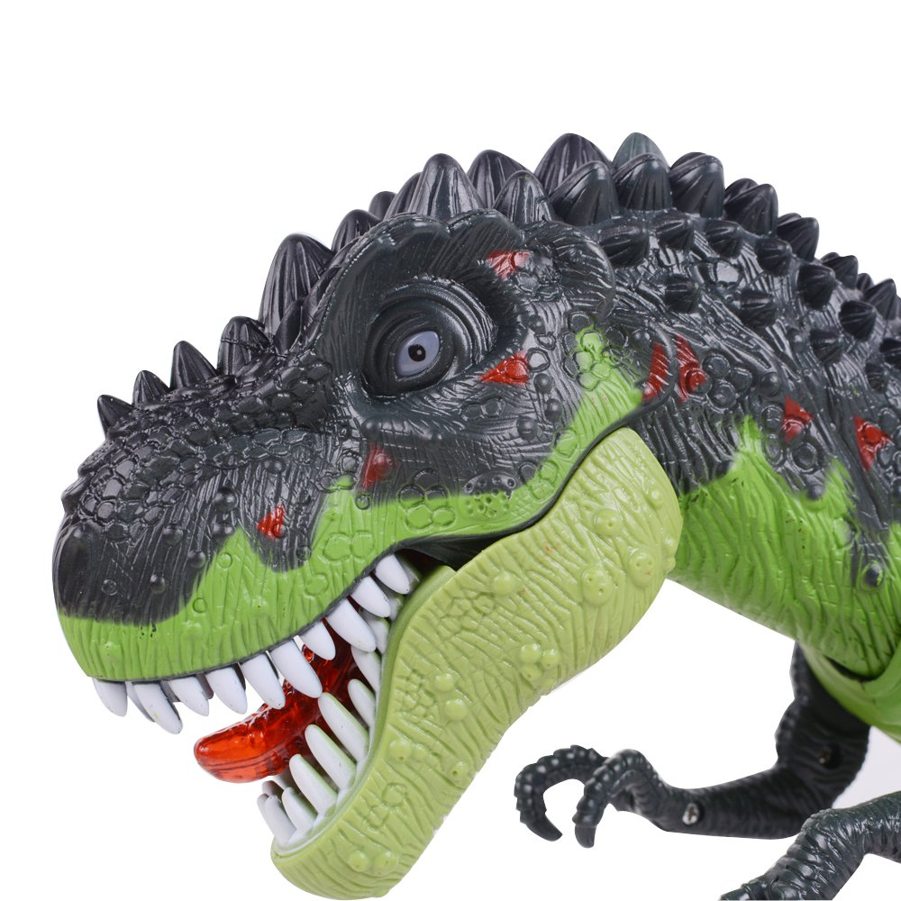 Ovovo Dinosaur Robot Toy for Boys Girls Large Size Walking Dinosaur Toy with Light and Sound, Real Movement.
