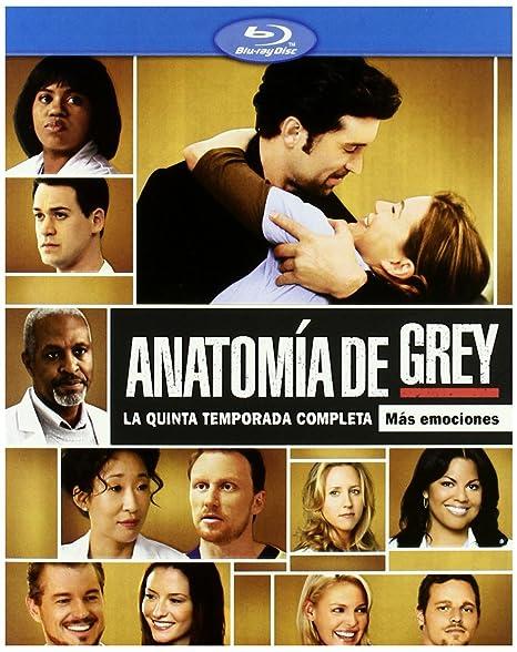 Anatomia de Grey (5º temporada) [Blu-ray]: Amazon.es: Varios: Cine y Series TV