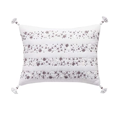 Amazon.com: Splendid Home - Almohada de punto de cruz ...