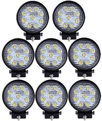 Vingo® 27W trabajo Faro LED 12V Luz de trabajo auto faro