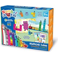 Learning Resources LSP0949-UK Numberblocks MathLink Cubes 1-10 Activity Set, Early Years Maths Learning, Build, Learn…