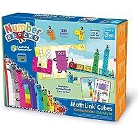 Learning Resources Set de Actividades con Numberblocks Cubos MathLink del 1 al 10, Aprendizaje de matemáticas para…