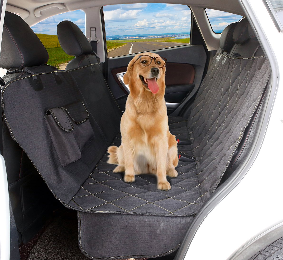 Car Waterproof Back Seat Covers Dog Mat Blanket Hammock Protector Anti Resistance Bite Car-covers Cloth Universal Free Ship Interior Accessories