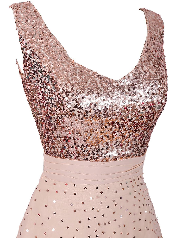 Dressystar 2015 Straps Chiffon Sleeveless Prom Party Dress A Line