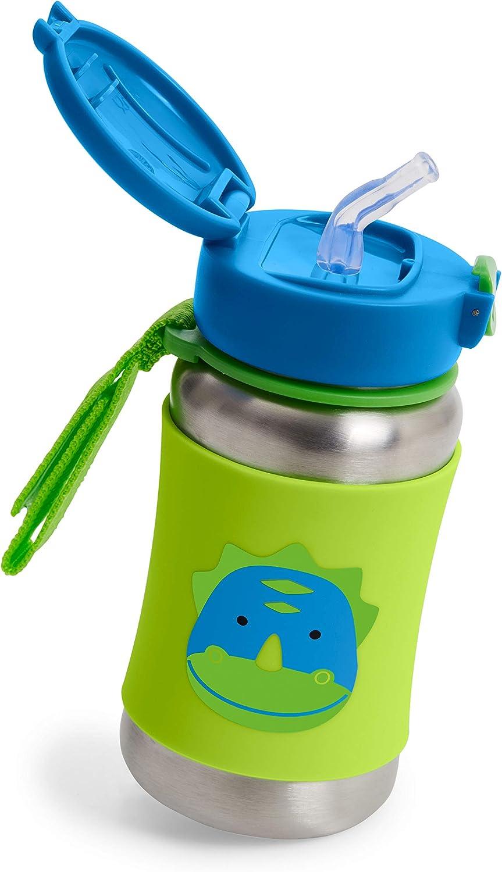 Llama Skip Hop 9I239210 Zoo Stainless Steel Straw Bottle