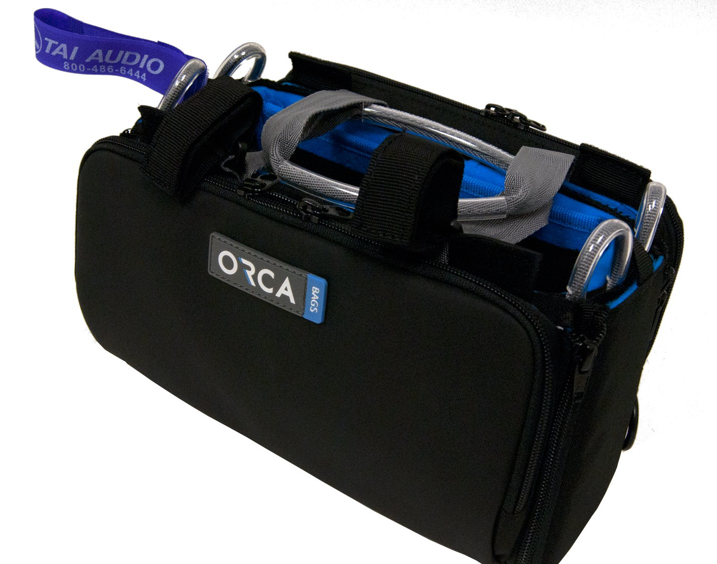 Orca OR-27 Mini Audio Bag w/ TAI Audio Cable Strap