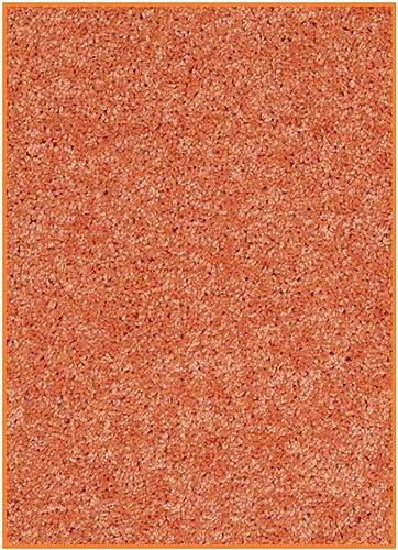Children s Choice Sunset Orange – 5 x8 Custom Carpet Area Rug