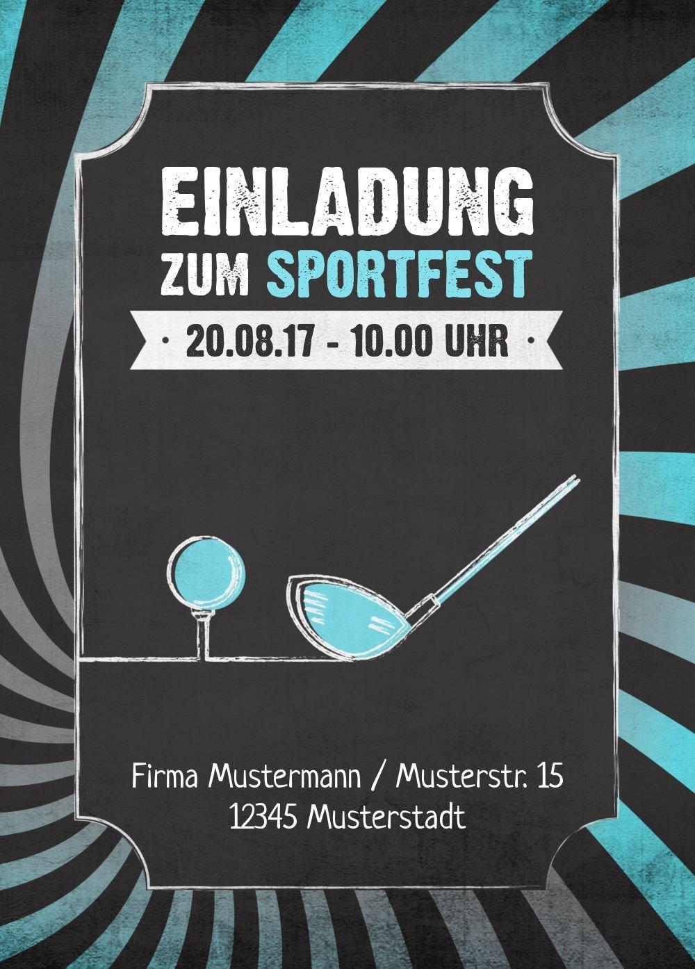 Einladung Sommerfest Retro Sport, 60 Karten, Rot Rot Rot B073W97SJV | Sale Deutschland  | Ausgang  | Schön und charmant  159a06