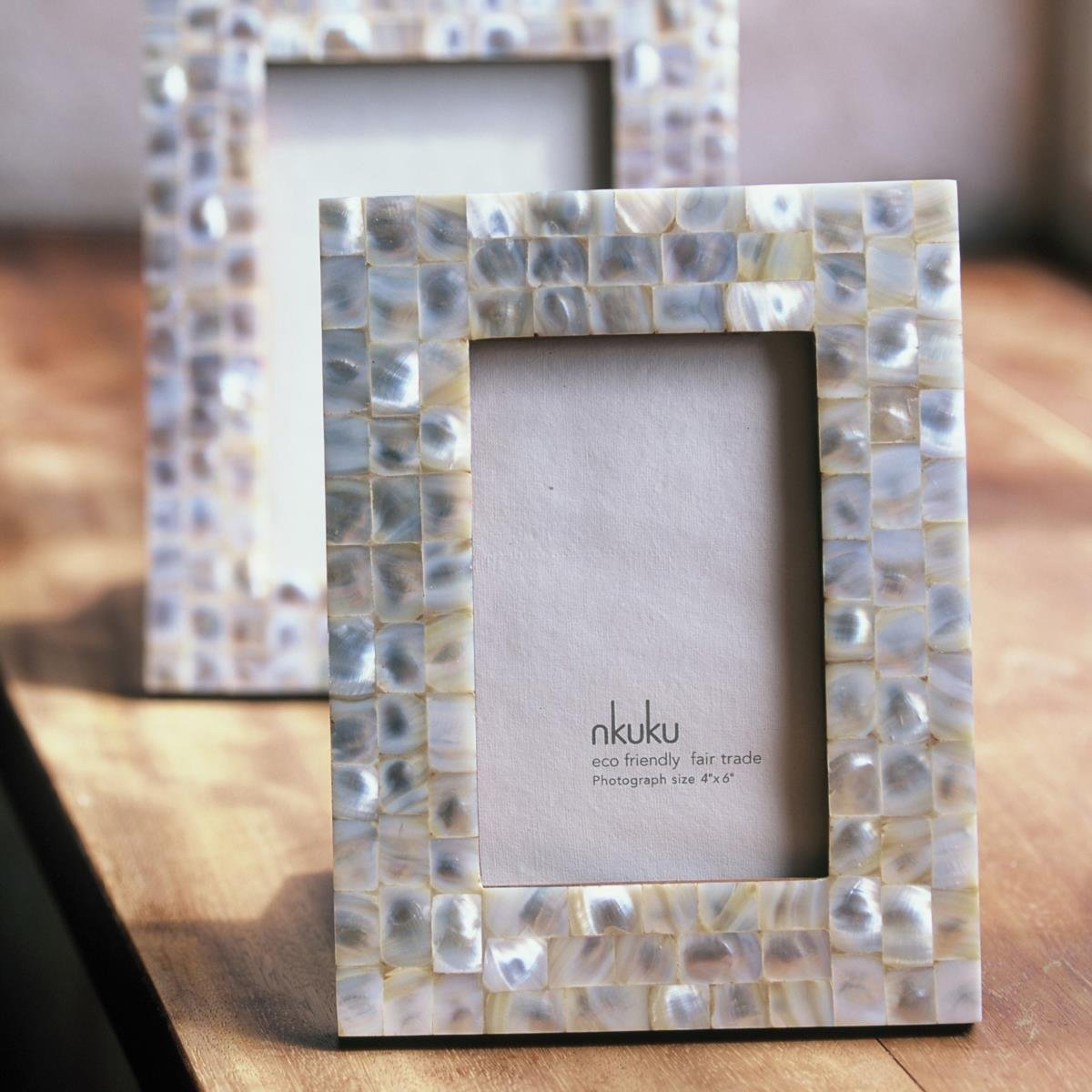 mother of pearl photo frame mother of pearl 5x7 amazoncouk kitchen home - Mother Of Pearl Frame