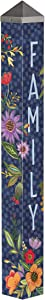 Studio M Family is Everything Art Pole Outdoor Decorative Garden Post, Made in USA, 40 Inches Tall