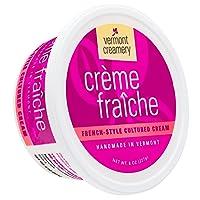 Vermont Creamery, Crème Fraîche, 8 oz