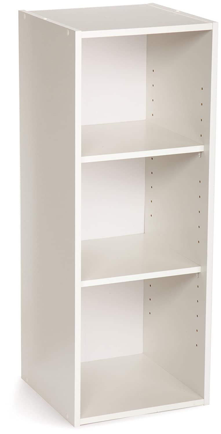 Amazon.com: ClosetMaid 8987 Stackable 3 Shelf Organizer, White: CLOSETMAID:  Home U0026 Kitchen