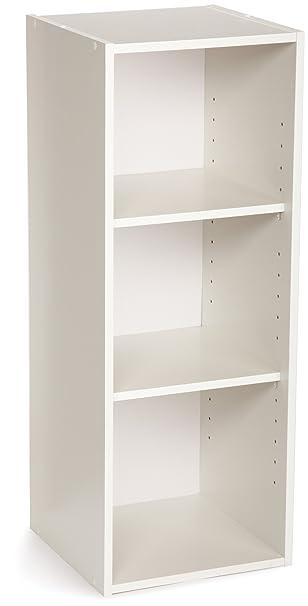 Superb ClosetMaid 8987 Stackable 3 Shelf Organizer, White