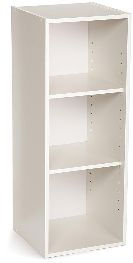 ClosetMaid 8987 Stackable 3 Shelf Organizer White